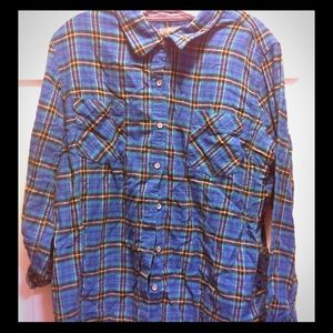 Men's XL Natural Reflections button down flannel